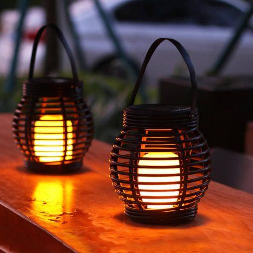 lanterne de table solaire exterieur