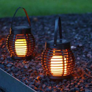 lanterne de table solaire jardin