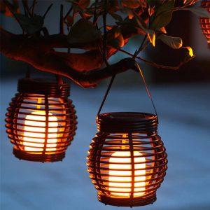 lanterne de table solaire led