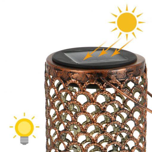 lanterne solaire decorative jardin