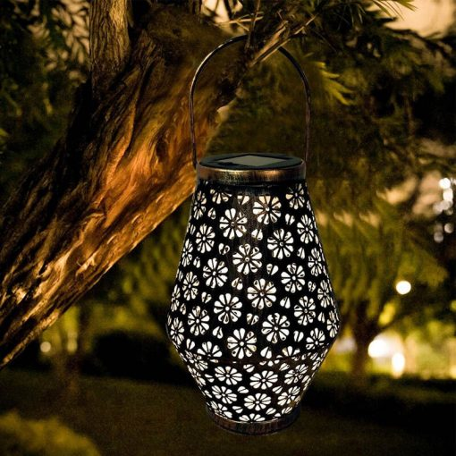 lanterne solaire orientale jardin