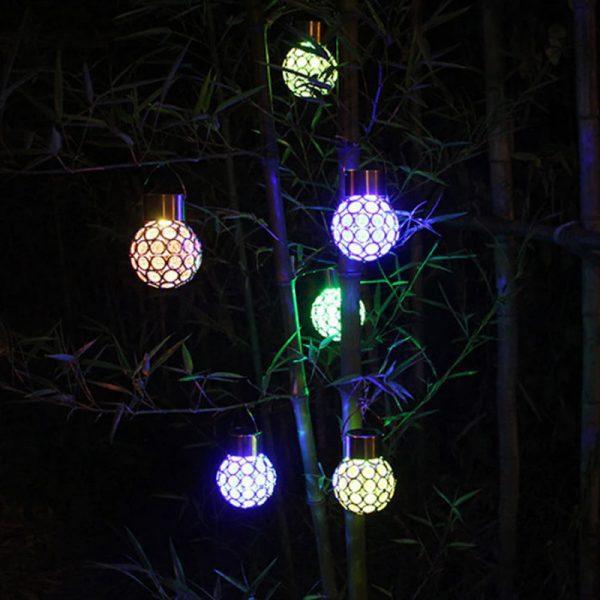ampoule deco solaire jardin