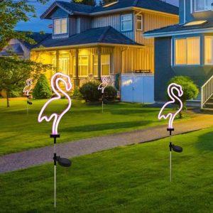animal solaire jardin exterieur
