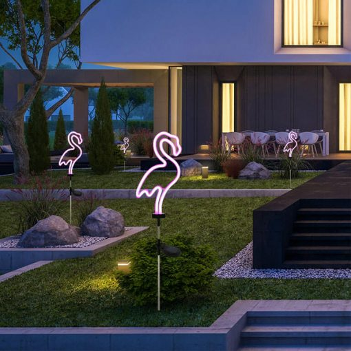 animal solaire jardin led