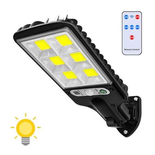 eclairage exterieur solaire puissant avec detecteur de mouvement