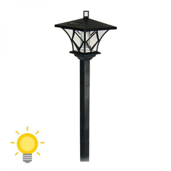 lampadaire solaire jardin