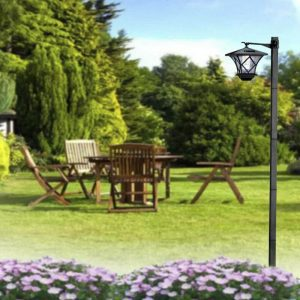 lampadaire solaire jardin autonome