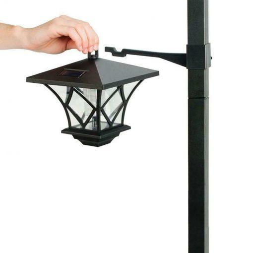 lampadaire solaire jardin led