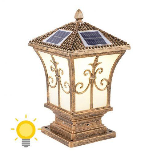 lampe solaire a poser sur terrasse