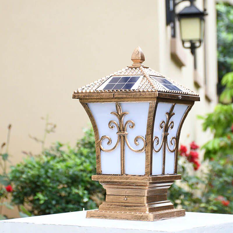 lampe solaire a poser sur terrasse exterieur