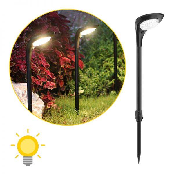 lampe solaire pour massif