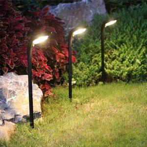 lampe solaire pour massif exterieur