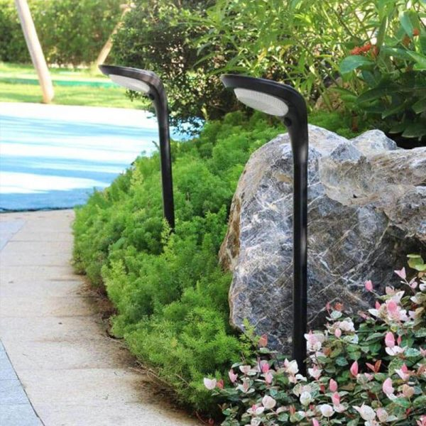 lampe solaire pour massif jardin
