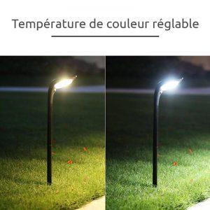 lampe solaire pour massif led