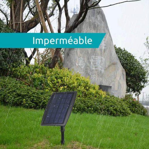 spots solaires encastrables terrasse exterieur