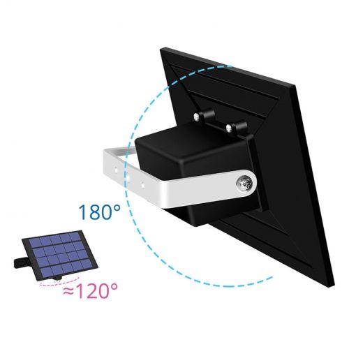 suspension exterieure solaire autonome