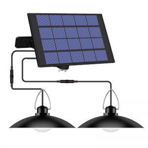 suspension exterieure solaire double