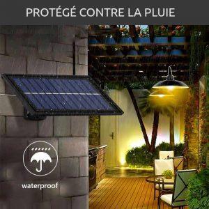 suspension exterieure solaire jardin