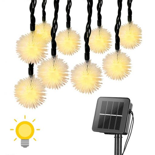 guirlande lumineuse solaire noel