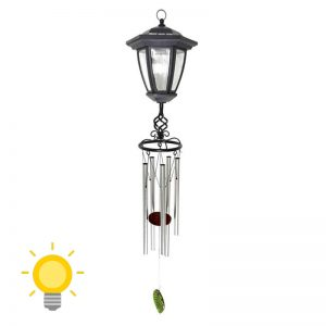 lampe solaire avec carillon