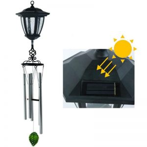 lampe solaire avec carillon deco
