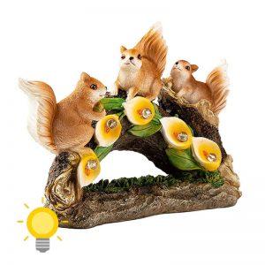 lampe solaire ecureuil