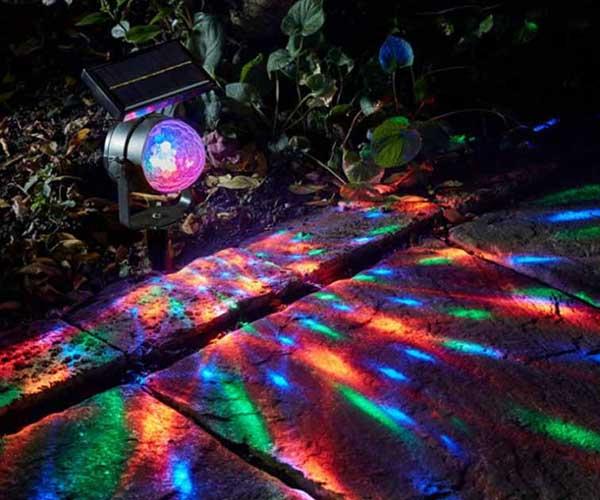 deco noel solaire spot