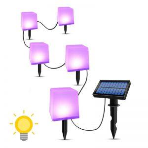 lampe deco solaire jardin