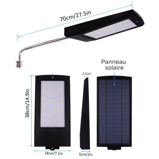 lampe solaire exterieur puissante autonome