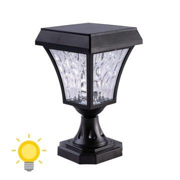 luminaire solaire pour poteau