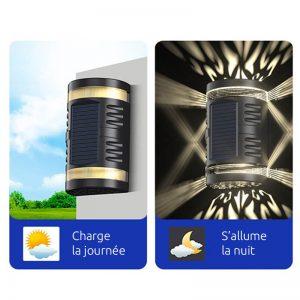 balise solaire murale applique
