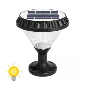 lampe solaire pilier exterieur