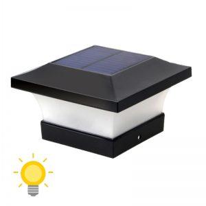 lampe solaire poteau 4x4 1
