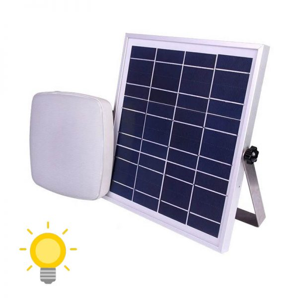 plafonnier solaire