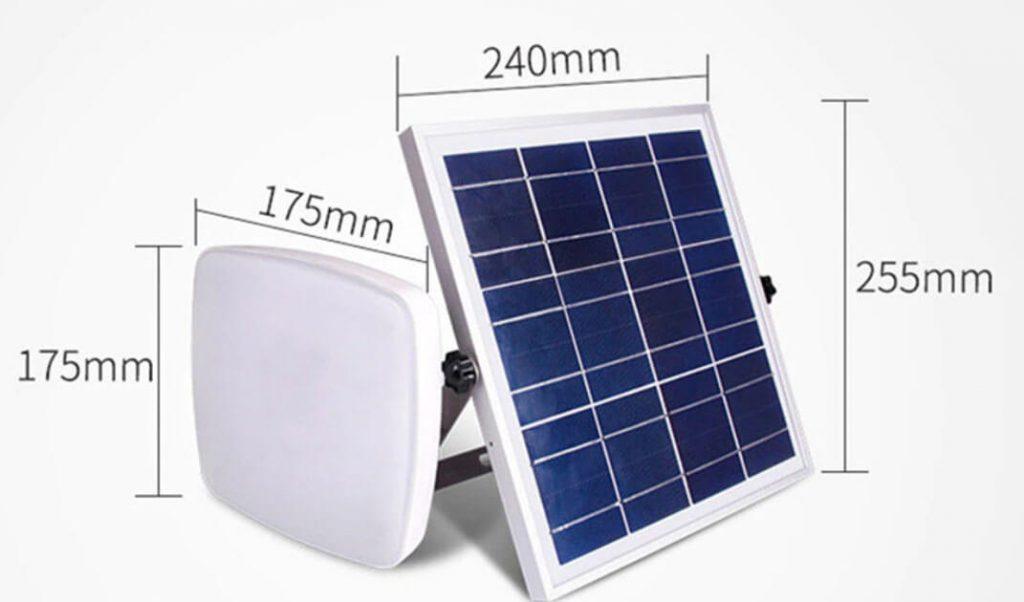 plafonnier solaire autonome 1
