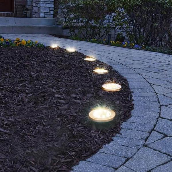 spot solaire encastrable jardin